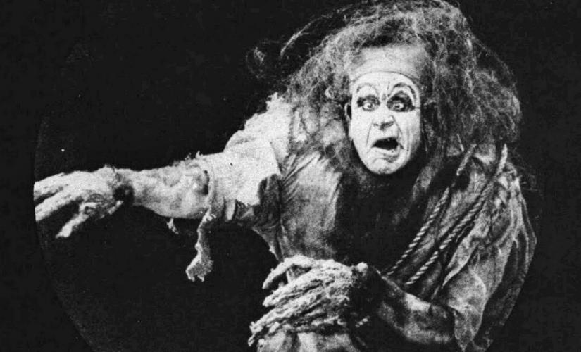 Charles Ogle in Frankenstein (1910), © Edison Studios