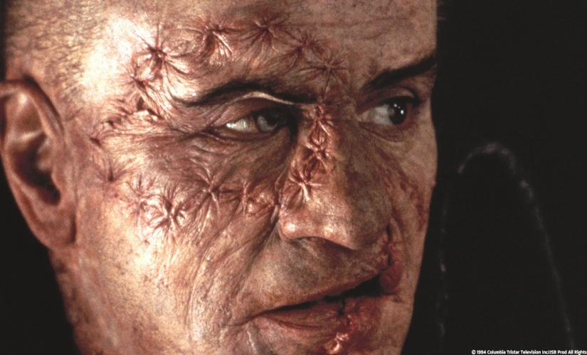 Robert de Niro in Mary Shelley's Frankenstein (1994), © TriStar Pictures