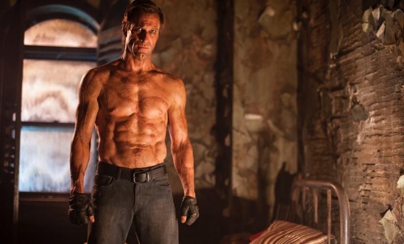 Aaron Eckhart in I, Frankenstein (2014), Foto von Ben King © Lionsgate